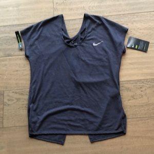 Nike DRI-FIT running, yoga, workout top.